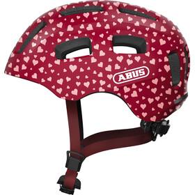 ABUS Youn-I 2.0 Helmet Youth, czerwony